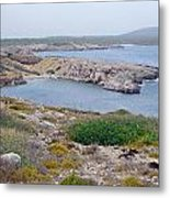 Cliffs And Coves Of Son Parc  Metal Print