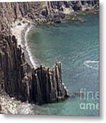 Cliffs At Grand Manan Island, Canada Metal Print