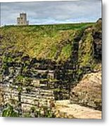 cliffs of Moher 40 Metal Print