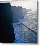 Cliffs Of Moher,co Clare,irelandview Of Metal Print