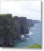 Clifts Of Moher Metal Print