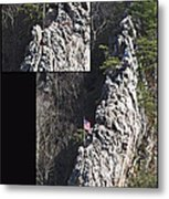 Climb To Great Heights Metal Print