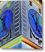 Clock Tower    Metal Print