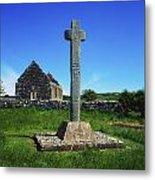 Cloncra Church, Inishowen Peninsula Metal Print