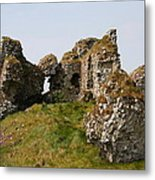Clonmacnoise Castle Ruin - Ireland Metal Print
