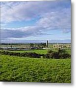 Clonmacnoise, Co Offaly, Ireland Metal Print