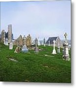 Clonmacnoise Monastery, County Offaly Metal Print