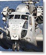 Close-up Of A Ch-53 Sea Stallion Metal Print