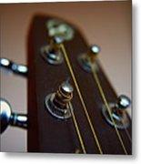 Close-up Of Guitar Metal Print by Image by Maistora (Vladimir Dimitroff)