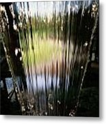 Close View Of A Sheet Of Water Metal Print