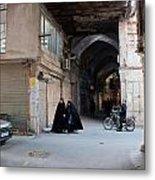 Closed Bazar In Esfahan Metal Print