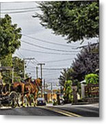 Closed On Sundays 2 - Amish Country Metal Print