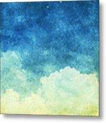 Cloud And Sky Metal Print by Setsiri Silapasuwanchai