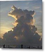 Cloud Explosion Metal Print