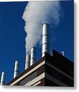 Cloud Factory Metal Print