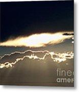 Cloud Lines Metal Print