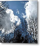 Cloud Panorama Metal Print