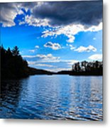 Cloud Reflections Metal Print