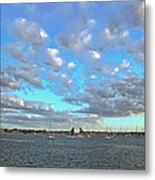 Cloud View From The Old Fort Metal Print
