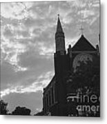 Clouded Places Metal Print