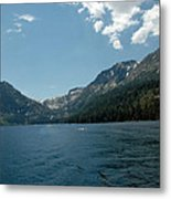 Clouds Above Emerald Bay Metal Print