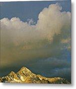 Clouds Above Mount Wilson Metal Print