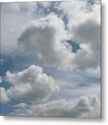 Clouds Are Alove Metal Print