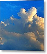 A Heart On Top Of The Clouds Metal Print