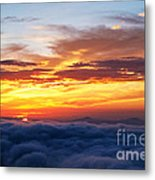 Clouds From Haven. Metal Print