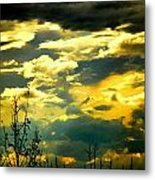 Clouds Of Many Colors Metal Print