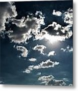 Clouds On A Sunny Day Metal Print