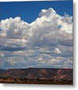 Clouds Over A Mesa Metal Print
