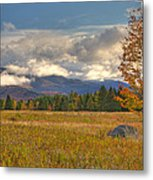 Clouds Over Algonquin Mountain Metal Print