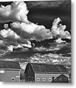 Clouds Over Knox 13804b Metal Print
