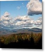 Clouds Over New Hampshire Metal Print