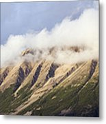 Clouds Over Porphyry Mountain Metal Print