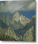 Clouds Shadow Rocky Mountain Peaks Metal Print