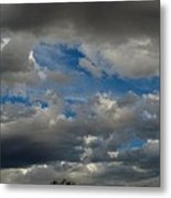 Cloudy With A Chance Metal Print