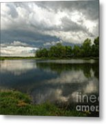 Cloudy With A Chance Of Paint 1 Metal Print