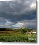 cloudy with a Chance of Paint 2 Metal Print