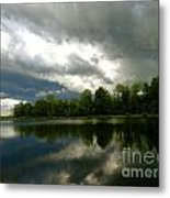 cloudy with a Chance of Paint 4 Metal Print