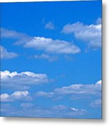 Cloudy With A Chance Of Sky Metal Print