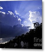 Cloudy With A Chance Of Sunshine Metal Print