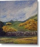 Clover Fields Metal Print