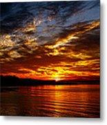 Clover Point Sunrise Metal Print