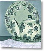 Clover Tea  Metal Print