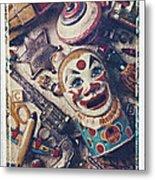 Clown Bank Metal Print