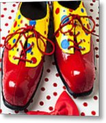 Clown Shoes  Metal Print