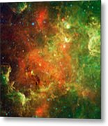 Clusters Of Young Stars In The North Metal Print