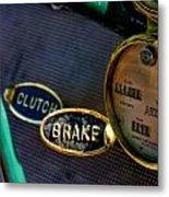 Clutch And Brake Metal Print